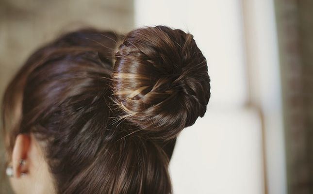 Braided Ballerina Bun // Hair Tutorial