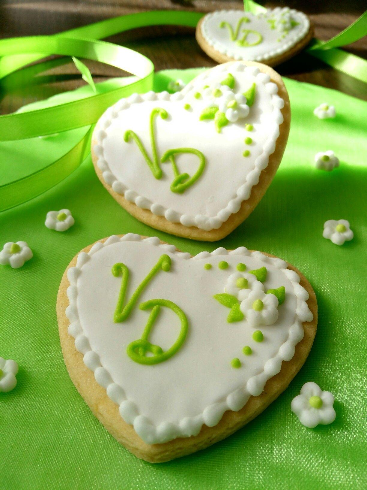 Segnaposto Matrimonio Pasta Di Zucchero.Biscotto Segnaposto Per Una Promessa Di Matrimonio Promesse Di