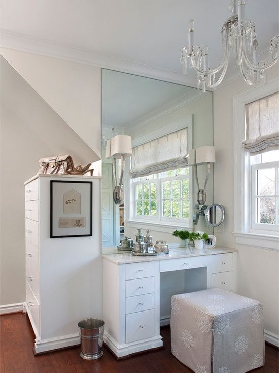 extraordinary-white-makeup-vanity-stool-with-white-closet-and ...