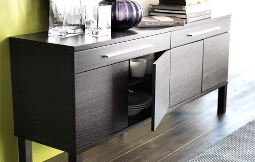 Ikea Torsby Credenza : The credenza compact office storage with style