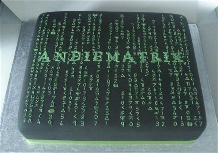 Matrix Cake Code Image Wedding Cakes In 2019