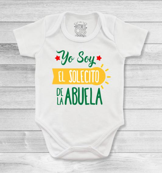 Bodys o mamelucos para bebé con lindos y amorosos diseños para los queridos  abuelitos b4c378a8dec