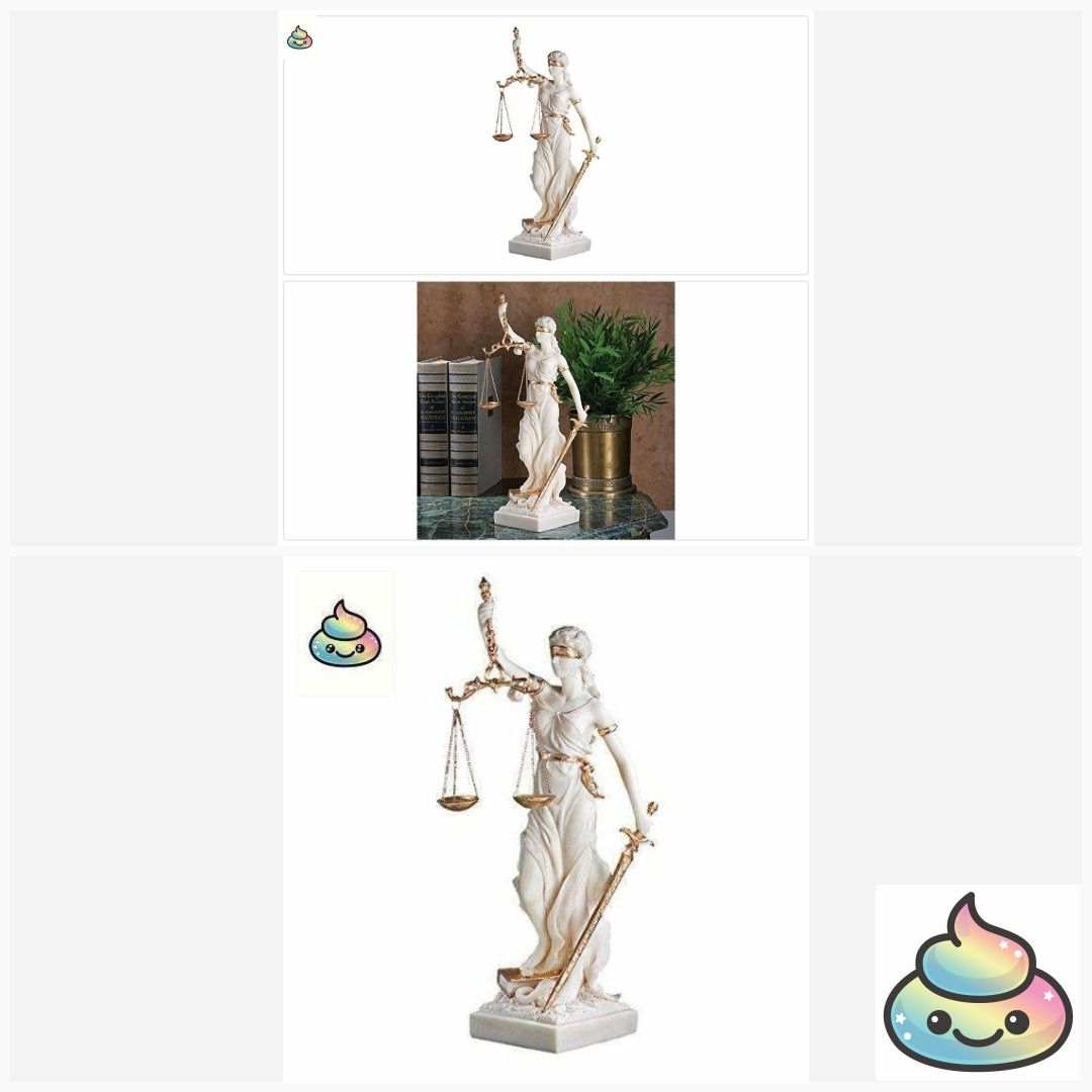 Design toscano themis blind lady of justice statue lawyer