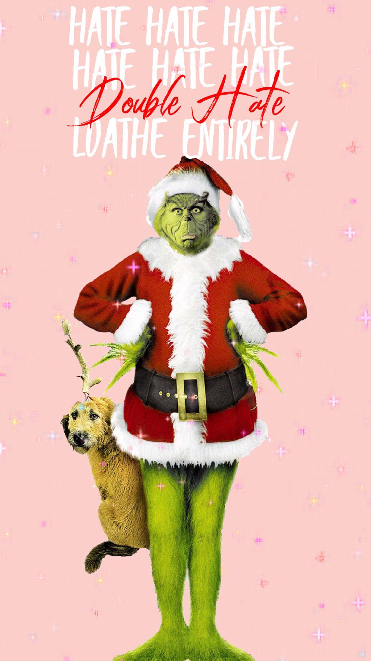 Grinchiest Christmas Wallpaper Save Set Funny Christmas Wallpaper Wallpaper Iphone Christmas Cute Christmas Wallpaper