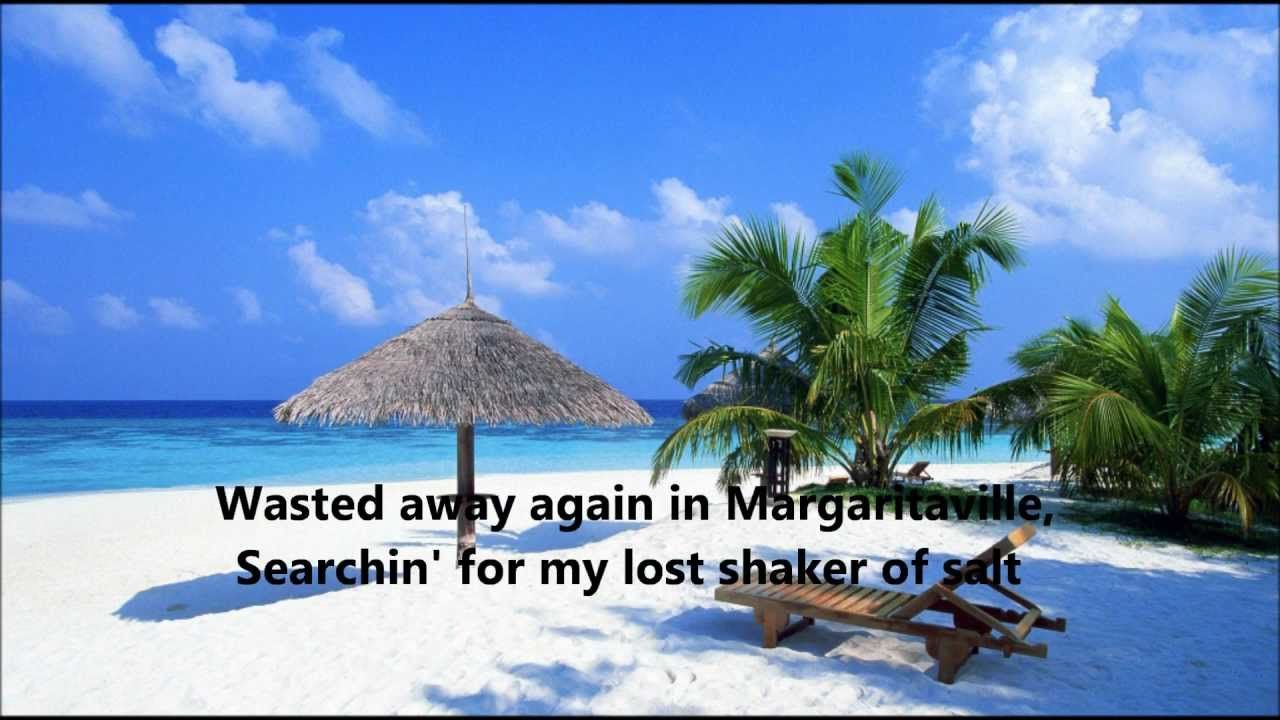 Jimmy Buffett - Margaritaville - Lyrics