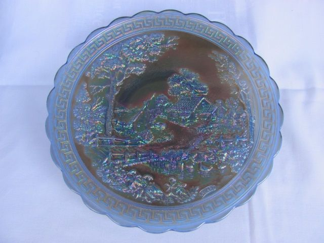 "Lot # : 40 - 10 ¼"" Imperial Homestead Flat Chop Plate – signed"