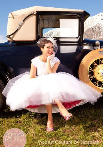 I Love The Pink Petticoat Add A Colored Petticoat Under Your Dress