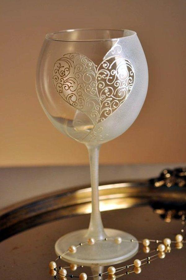 40 artistic wine glass painting ideas bored art