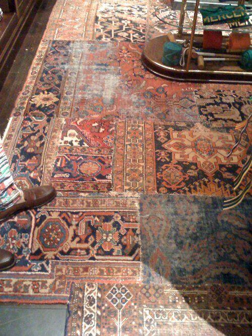 Oriental Rug Patchwork I Love Antique Orientals Want