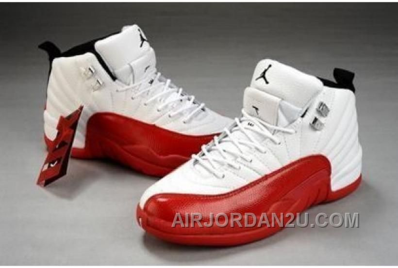 Women Jordan Shoes -jordan shoes for women Women Jordan 12 White Red [Women  Jordan 12 - Women Jordan 12 White Red. Inspired by a century dress boot,  the Air ...