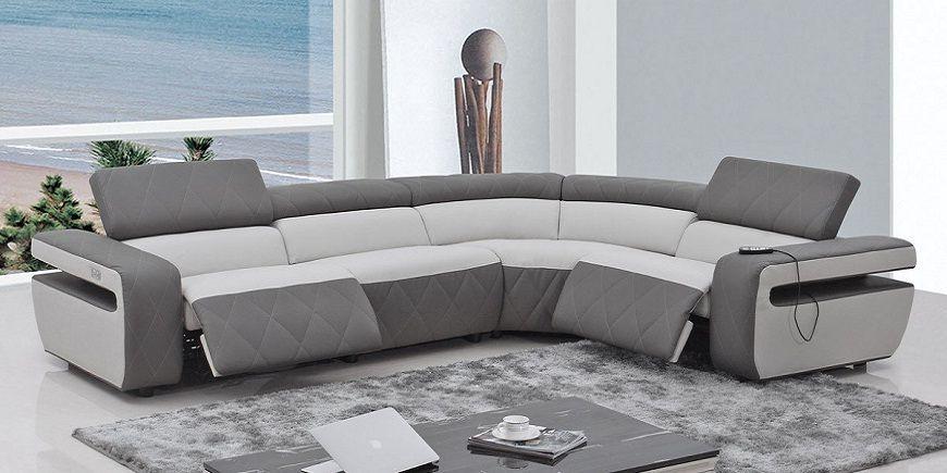Contemporary Leather Recliner Sofa Design Latest Sofa Designs Sofa Design Sectional Sofa With Recliner