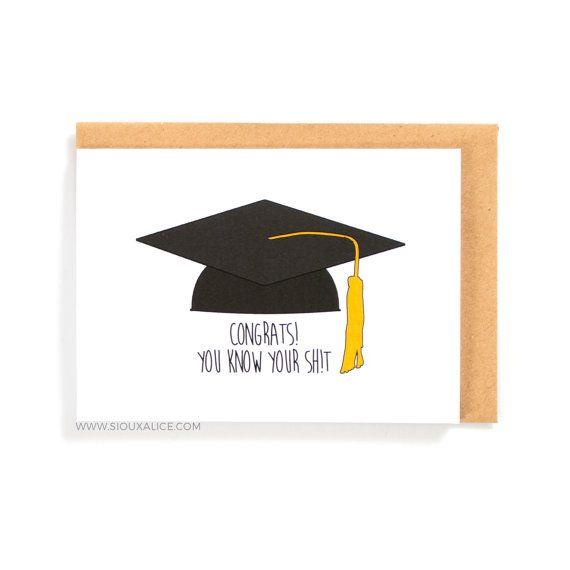 Graduation Card Congratulations On Your Graduation Funny Card