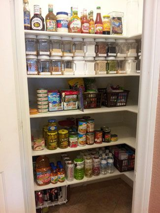 Dollar Store Organization Page 2 Of 13 Paige S Party Ideas Dollar Store Organizing Pantry Organization Kitchen Containers
