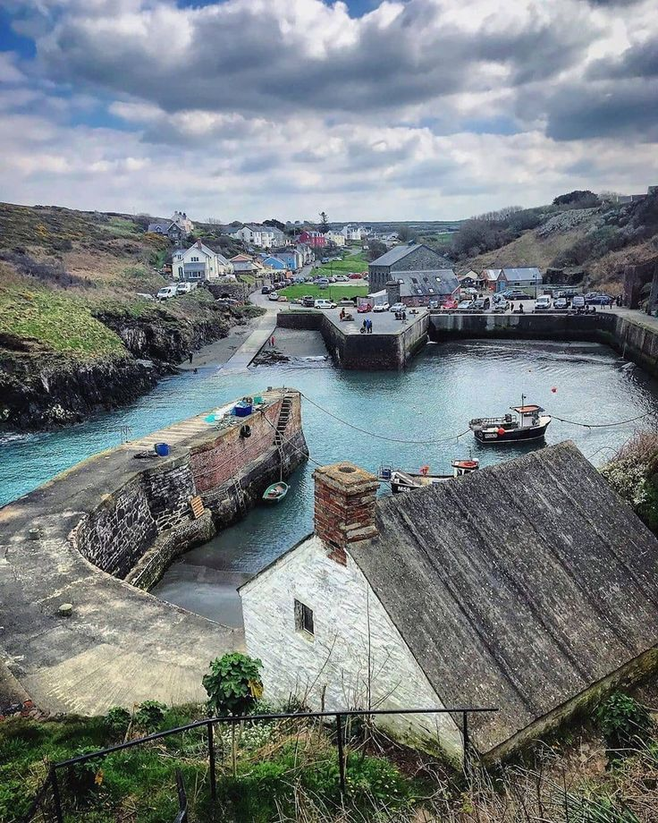 "Visit Wales on Instagram: ""Picture perfect Porthgain on the North Pembrokeshire coast - just one of the Insta hotspots on #TheCoastalWay Diolch / Thanks to…"" #visitwales"