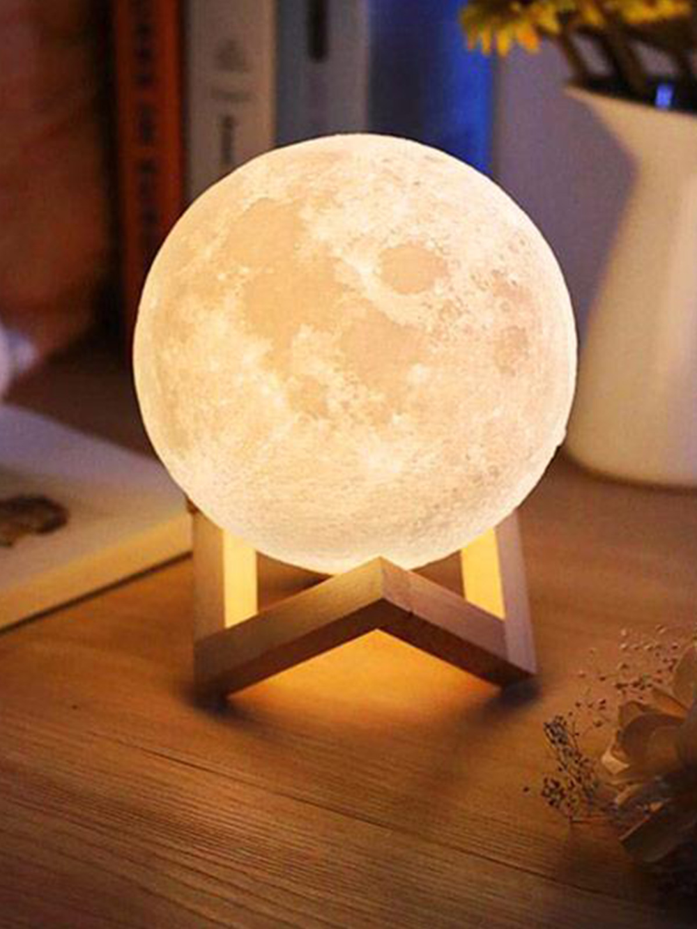 3d Moon Lamp In 2020 Touch Lamp Night Light Lamp Led Night Light