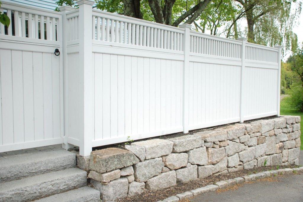 wall, fence gate & steps...