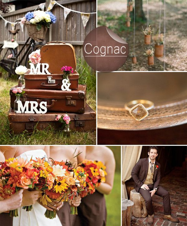 Rustic Wedding Color Ideas: Top 10 Pantone Fall Wedding Colors 2014 Trends