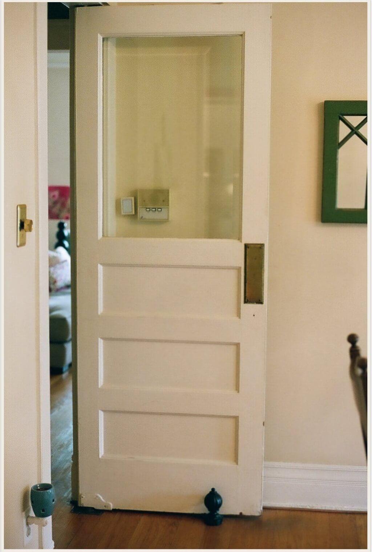 Decorating White Vintage Interior Swinging Door Glass Doors Interior Swinging Doors Kitchen Swinging Doors