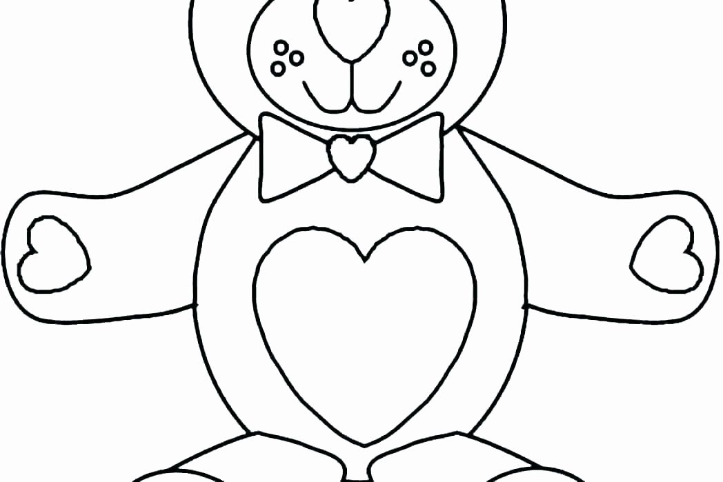Valentine Bear Coloring Pages Fresh Gummy Bear Coloring Pages Qoopon