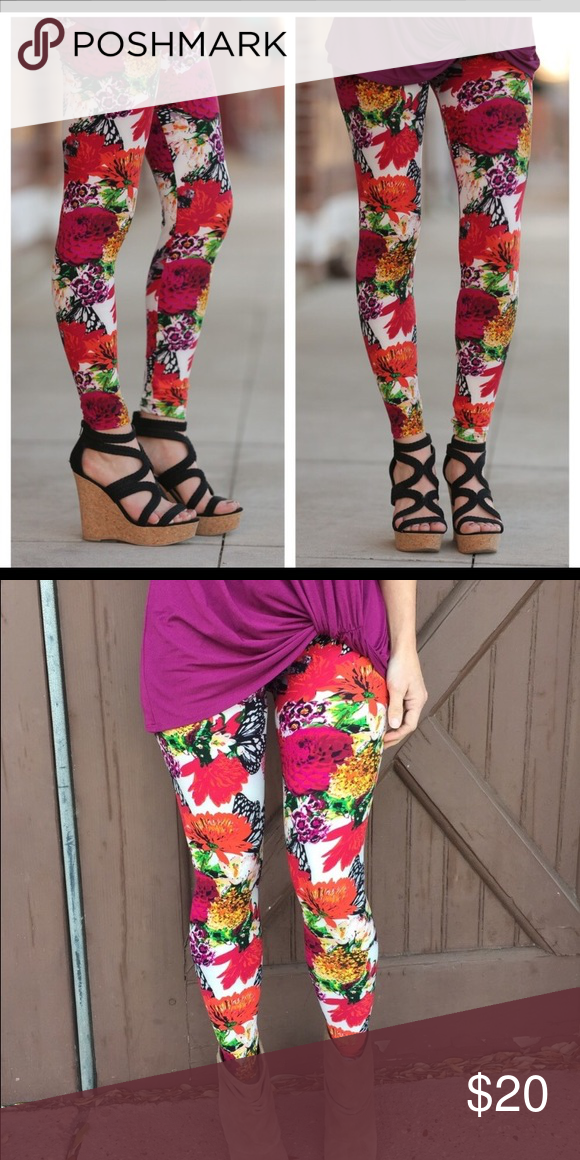 Lularoe Leggings Os Buttery Soft Fashionable Style; In