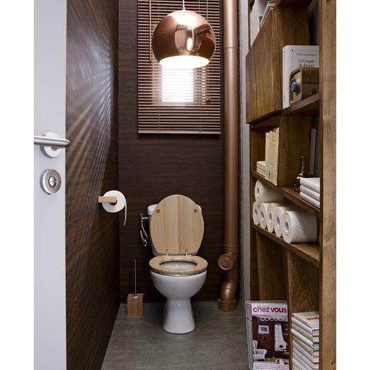 abattant wc sensea klara hevea marron new bathroom pinterest. Black Bedroom Furniture Sets. Home Design Ideas