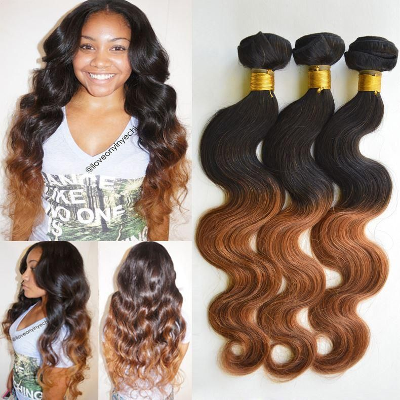 Two Tone Body Wave Malaysian Ombre Body Wave | Wavy your life ...