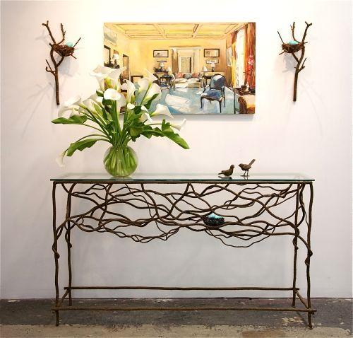 Home Decor | Artisan Birds Nest Furniture Http://www.nataliescottdesigns.com