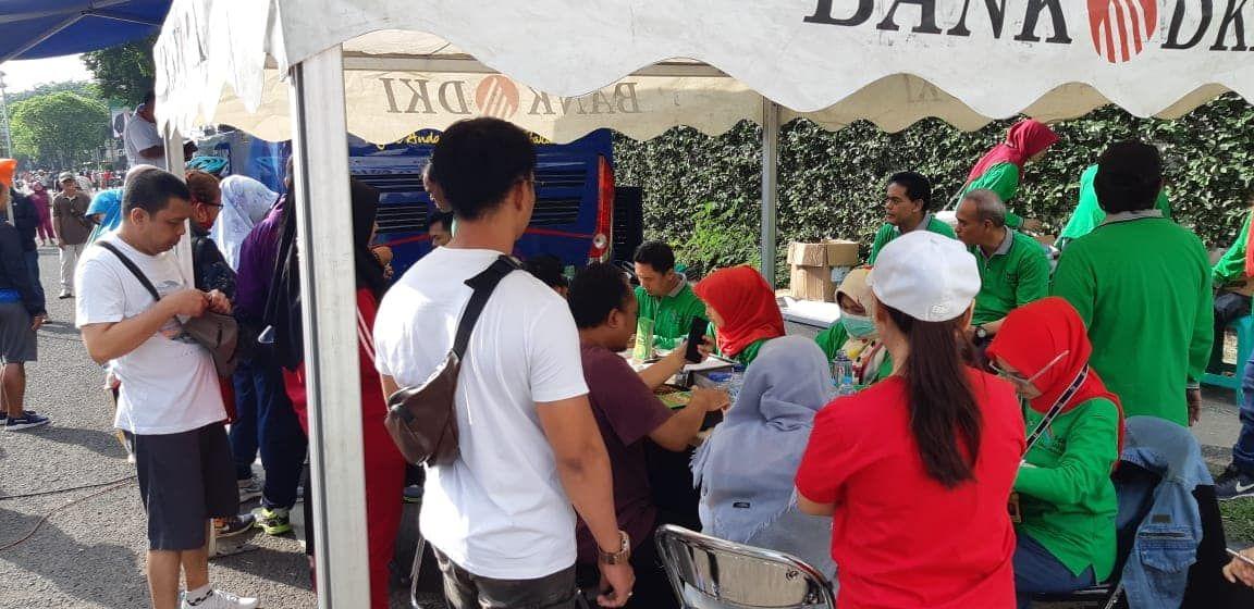 Samsat Keliling Jakarta Selatan di Car Free Day pada hari