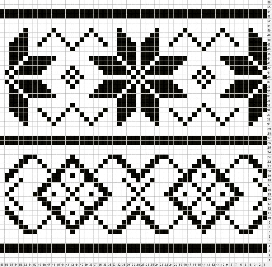 Fair Isle pattern - http://www.tricksyknitter.com/knitting ...