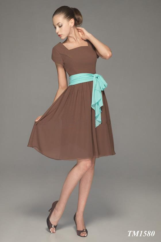 Images of Brown Summer Dresses - Reikian