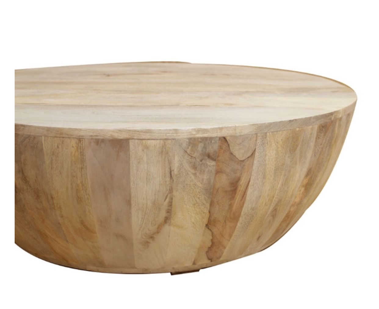 Ollie Coffee Table Transitional Coffee Tables By Benzara Woodland Imprts The Urban Port Coffee Table Round Wood Coffee Table Mango Wood Coffee Table [ 1013 x 1242 Pixel ]