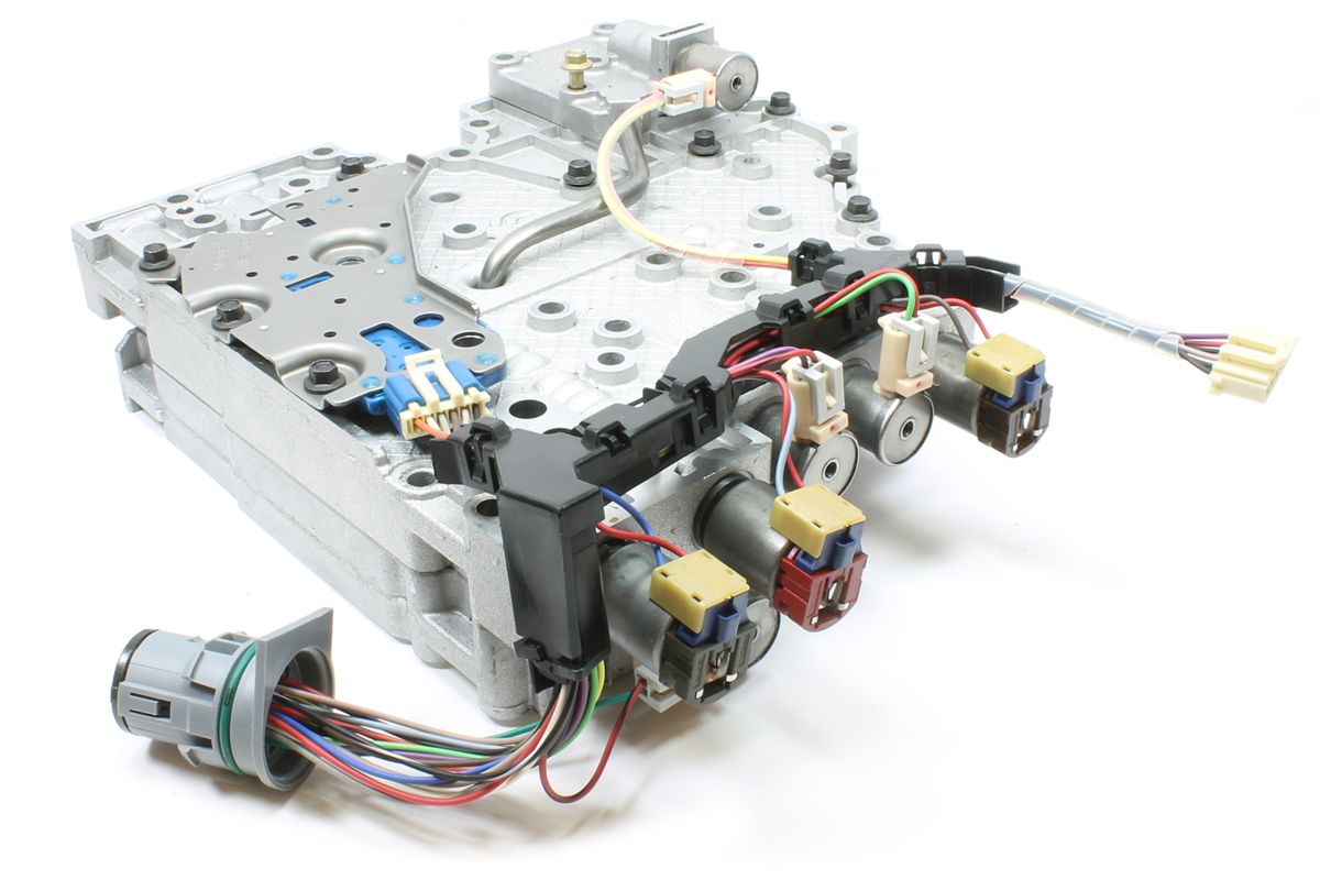 86427499c9e43fbaeb32c904b4d0ff6d allison 1000 valvebody with new rostra solenoids and wire harness