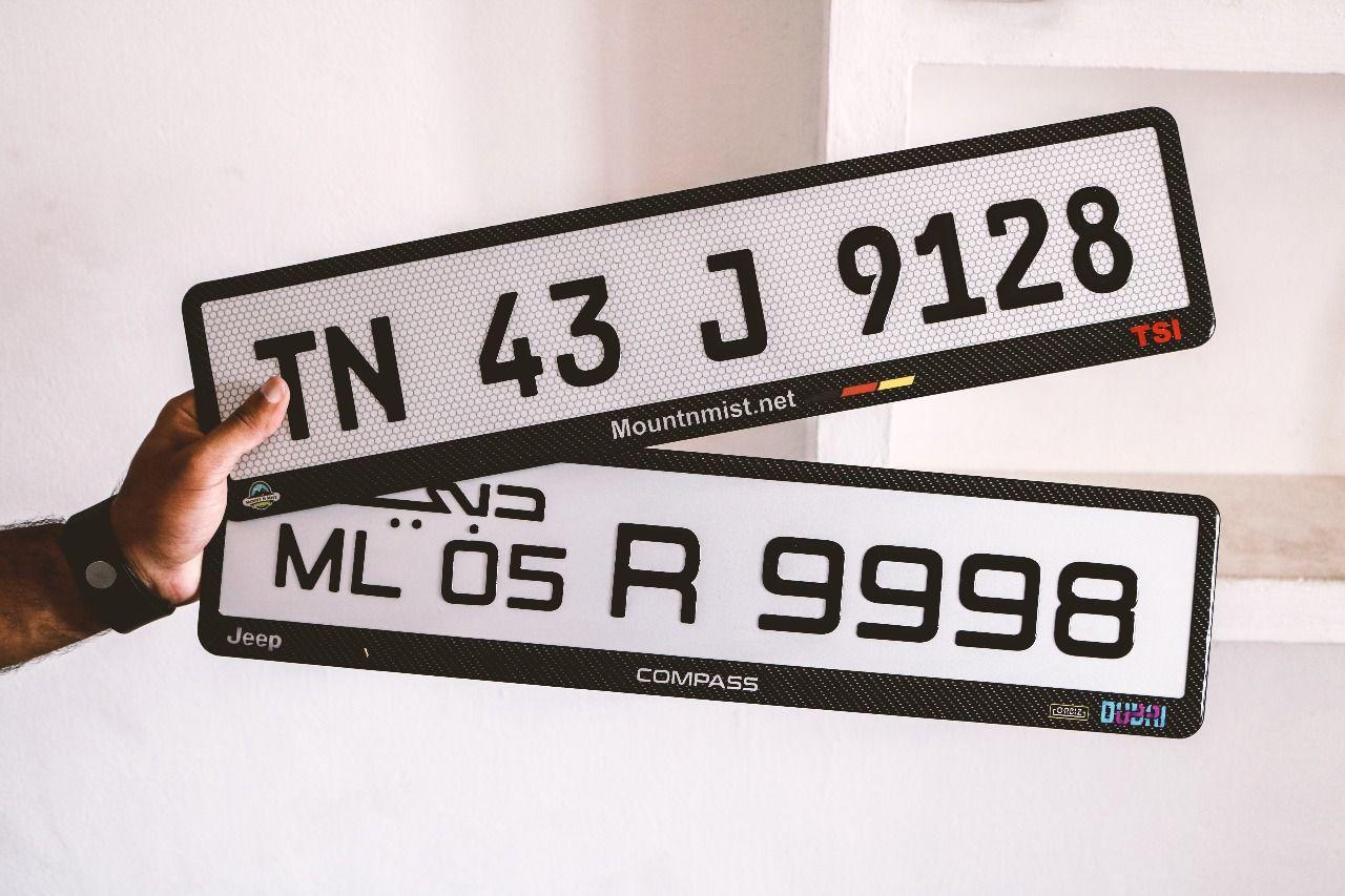 Gel Number Plates Number Plate Design Number Plate Design