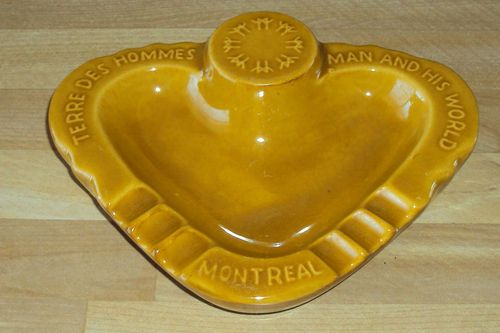 Man and His World Pavillion Ashtray by Céramique de Beauce - 1967