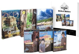 Geology and Biblical History Bundle from Master Books only $69.99! 1 year curriculum for target grades 8th – 9th. Earns 1 High School Credit.