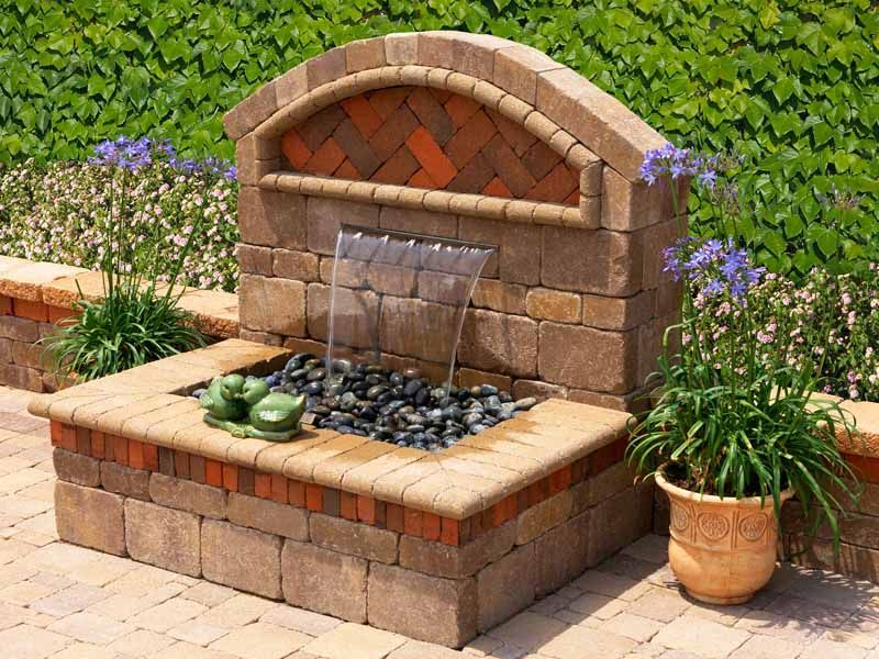 Outdoor Wall Water Fountains water features can also create a number of hazards. description