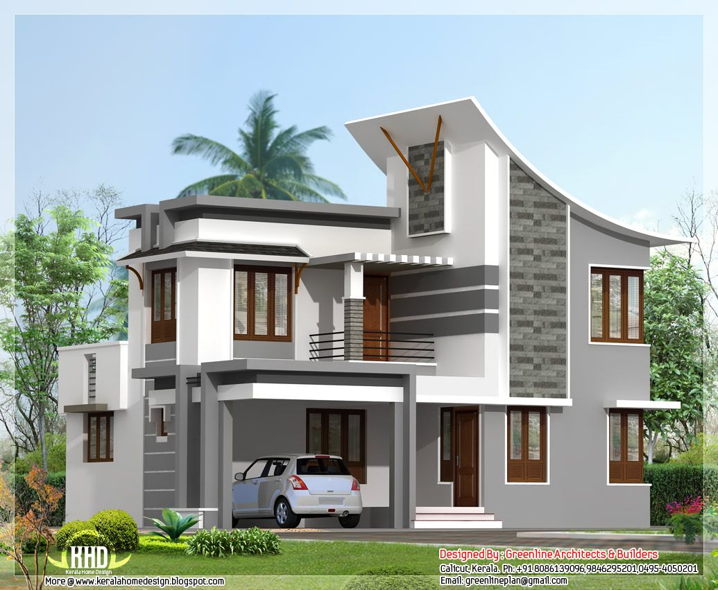 modern 3 bedroom house - free house design plans 2014 | houses