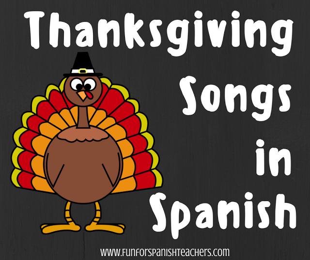 Thanksgiving Songs in Spanish