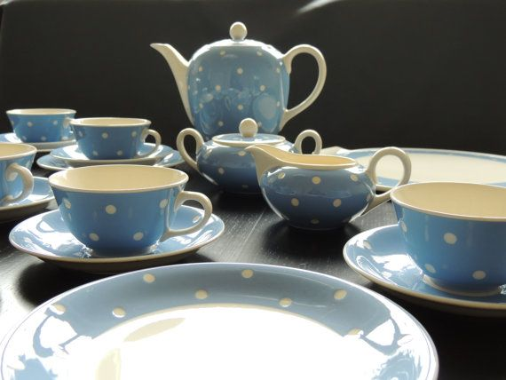 Villeroy Boch Doris Coffee Service For 6 Pers Approx 1920 With Two Cake Plates Glass Piece Villeroy Boch Cake Plates Coffee Service