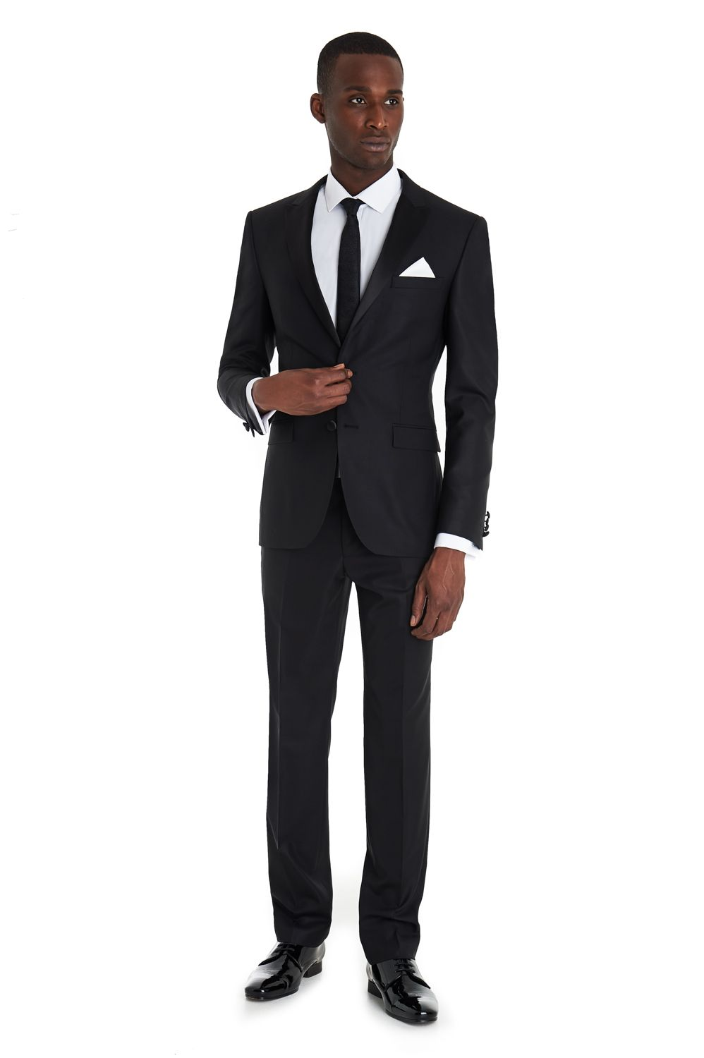 DKNY Slim Fit Black Dress Suit | Suits | Pinterest | Suits ...