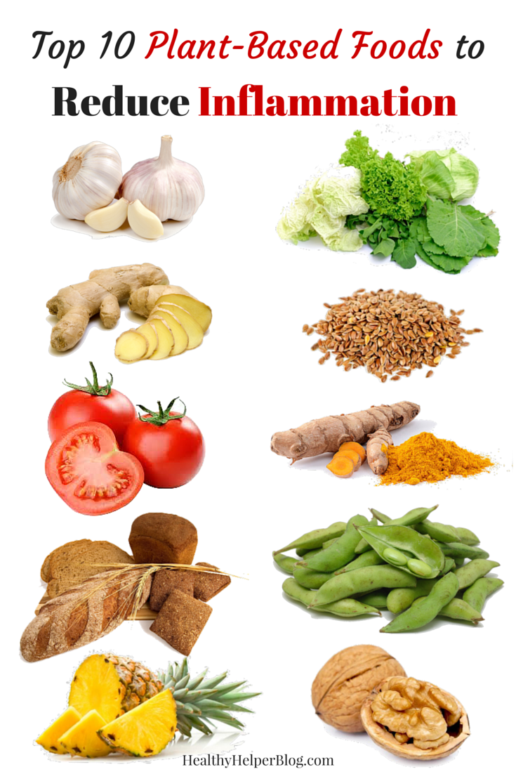 top 10 plant-based foods to reduce inflammation   nutrition