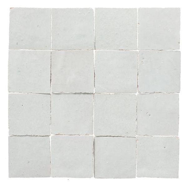 white zillij tile