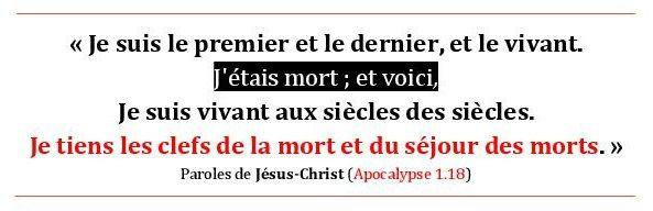 Je Tiens Les Clefs De La Mort Et Du Sejour Des Morts Apocalypse 1 18