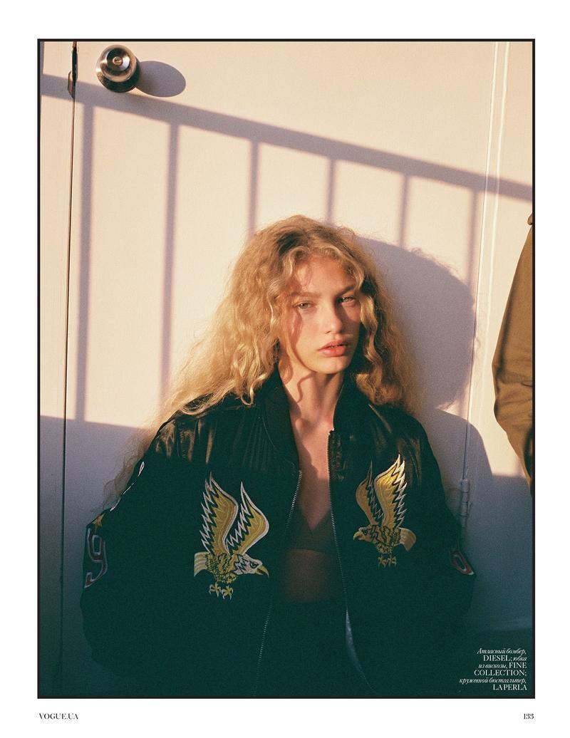 Well Vogue Ukraine  Yaniv Edry  Pinterest  Ukraine Models and