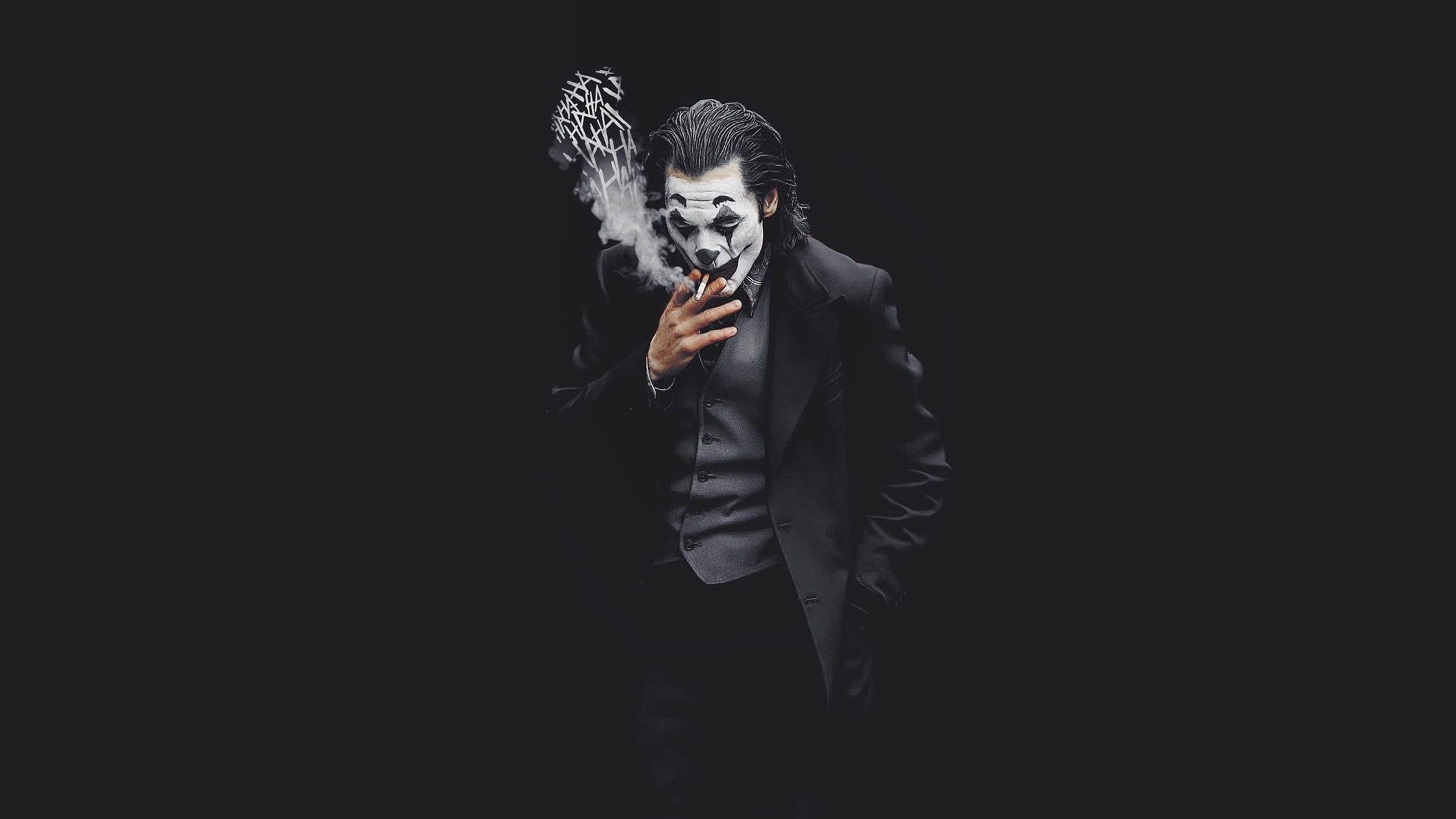 Joker Black Dc Comics Batman Joaquin Phoenix Movie Characters 2019 1080p Wallpaper Hdwallpape Joker Hd Wallpaper Joker Wallpapers Joker Iphone Wallpaper