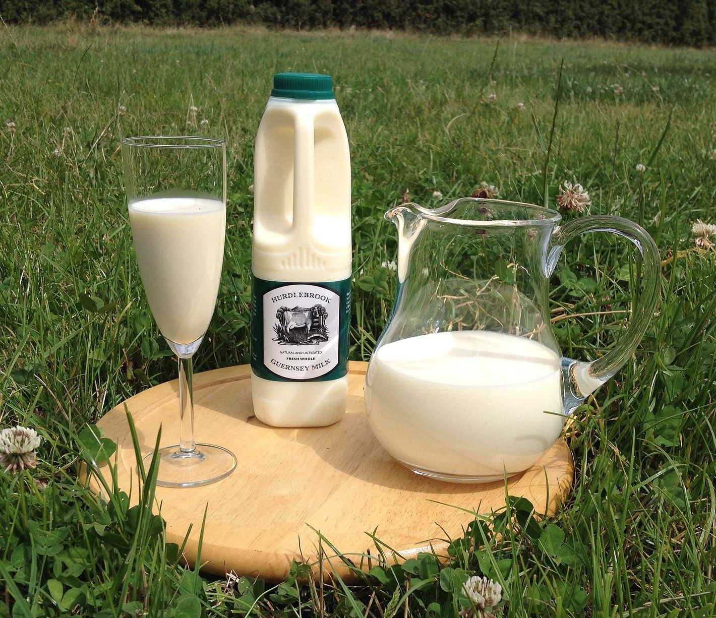 Raw milk UK hurdlebrook Guernsey (a2) Nourishing