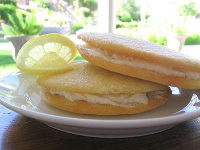 Lulu the Baker: Give-Away!! and Lemon Cream Sandwich Cookies