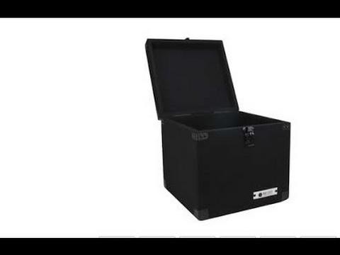 Odyssey Carpeted Case For 90 Lp Vinyl Records Clp090e Lp Record Storage Box Record Storage Box Record Storage