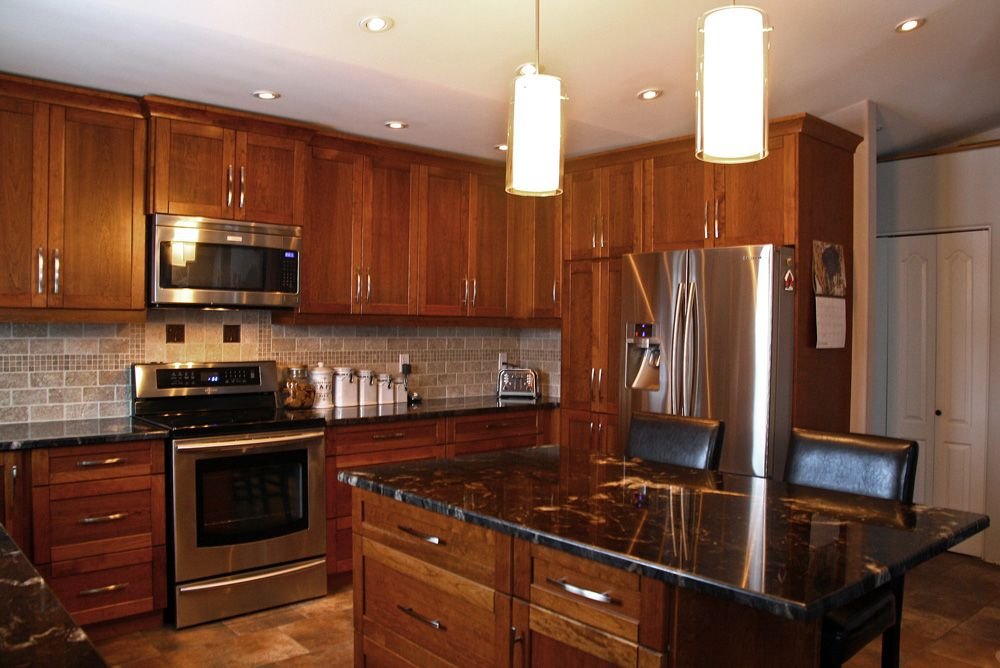 Pin on Kitchen cabinets on Dark Granite Countertops With Dark Cabinets  id=77294