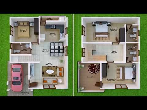 Gallery Of 1500sqr Feet Single Floor Low Budget Home With Plan In Kerala Trends Tamil Nadu House Plans Duplex House Design North Facing House 20x30 House Plans